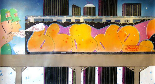 graffiti - urban art - acryl on canvas