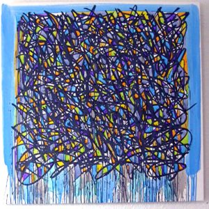 graffiti - urban art - acryl on canvas